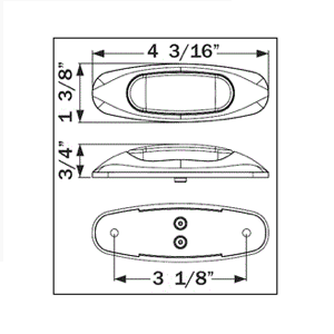 Miro-Flex 3 Diode Dimensions