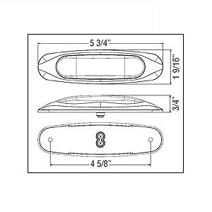 Miro-Flex 4 Diode Dimensions