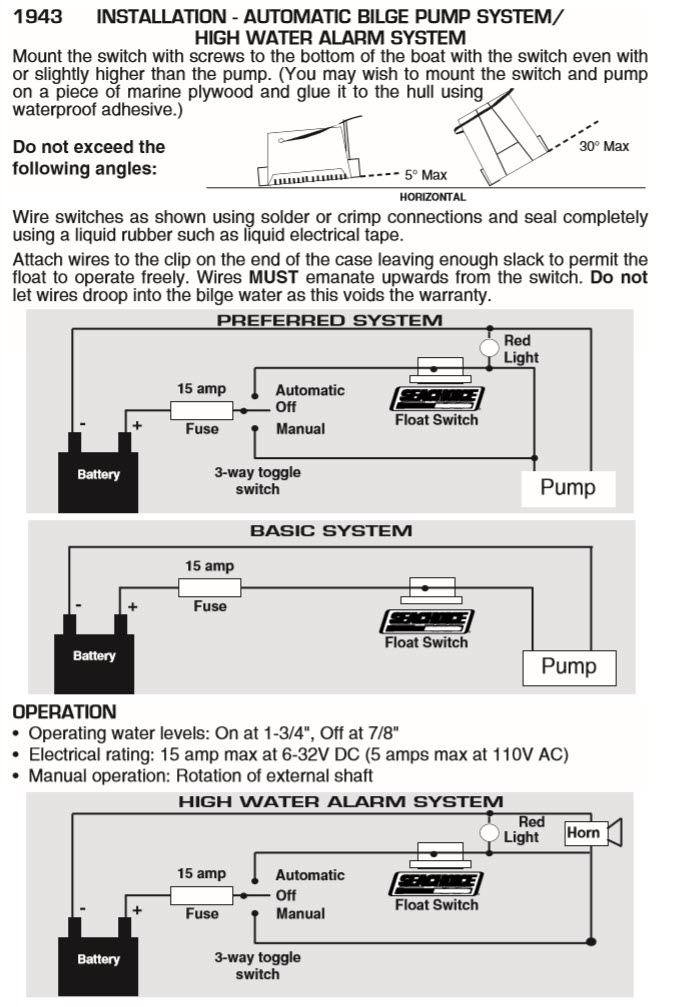 Contemporary bilge pump float switch wiring diagram component beautiful boat float switch wiring diagram vignette electrical and swarovskicordoba Choice Image