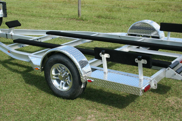 Bolt On Steps For Campers : Custom airboat trailers